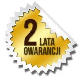 Dwa lata gwarancji