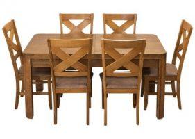 Stół borys krzesła texas