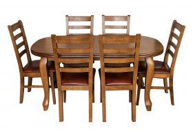 stół ludwik krzesła cortez